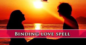 Binding Love Spell